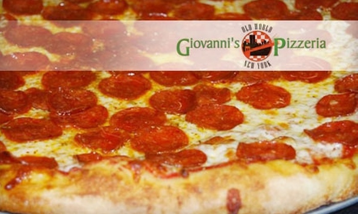Giovanni's Old World New York Pizzeria - East Sacramento: $12 for $25 Worth of Pizza and More at Giovanni's Old World New York Pizzeria