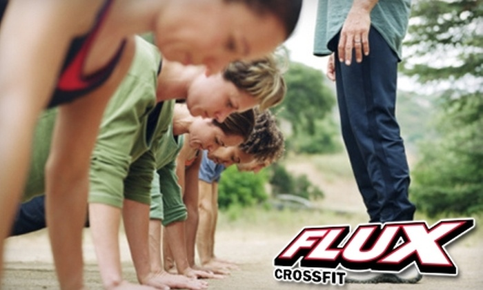 Flux Crossfit - Cathedral: $49 for an Eight-Class Punchcard and Three Introductory Classes at Flux Crossfit