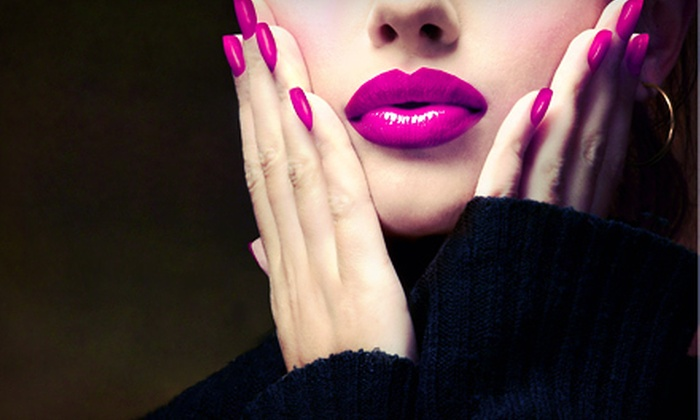 Studio Nails Design By Ruby - Hill Country Galleria: $45 for Two Shellac Manicures at Studio Nails Design By Ruby ($90 Value)