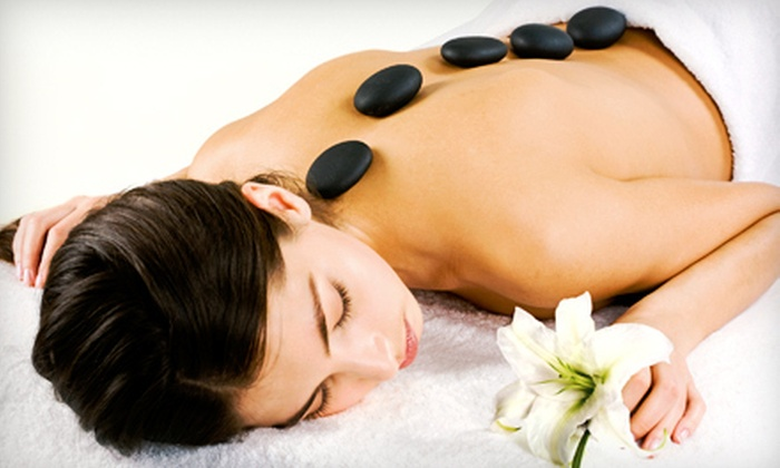 Simple Solution Weight Loss - Sutherland Industrial: Hot-Stone Massage with Optional Sauna Session at Simple Solution Weight Loss (Up to 55% Off). Three Options Available.