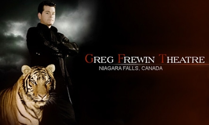 "Greg Frewin Theatre - Niagara Falls: Up to 57% Off One Ticket to ""Beyond Belief Magic"" at Greg Frewin Theatre. Choose from Three Options."