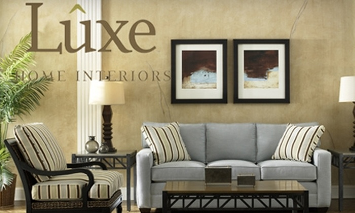 Luxe Home Interiors - Mishawaka: $35 for $100 Worth of Furniture and More at Luxe Home Interiors