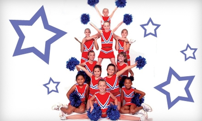 SuperSquad of San Angelo - San Angelo: $25 for a Summer Cheerleading Camp at SuperSquad of San Angelo ($45 Value)