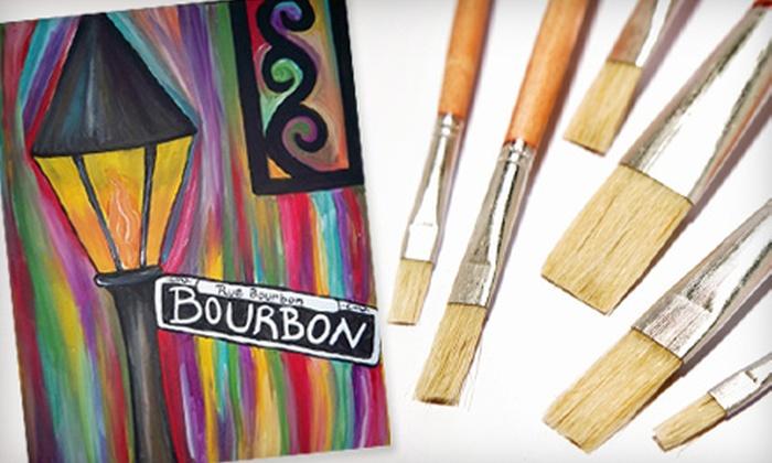 BrushFire - Denham Springs: $20 for a Painting Class at BrushFire