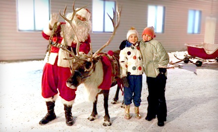 2 Tickets to Christmas Fun and Family Photo Day on Sat., Dec. 3 (a $20 value)  - Reindeer Farm in Palmer