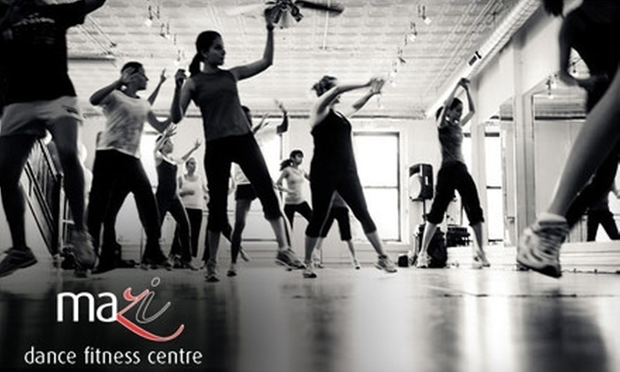 MaZi Dance Fitness Centre - Wicker Park: $39 for Five Drop-In Dance-Based Fitness Classes at MaZi Dance Fitness Centre ($90 Value)