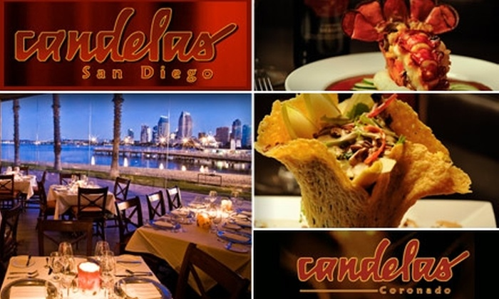 Candelas on the Bay and Candelas San Diego - Marina: $30 for $65 Worth of Mexican Cuisine and Drinks at Candelas