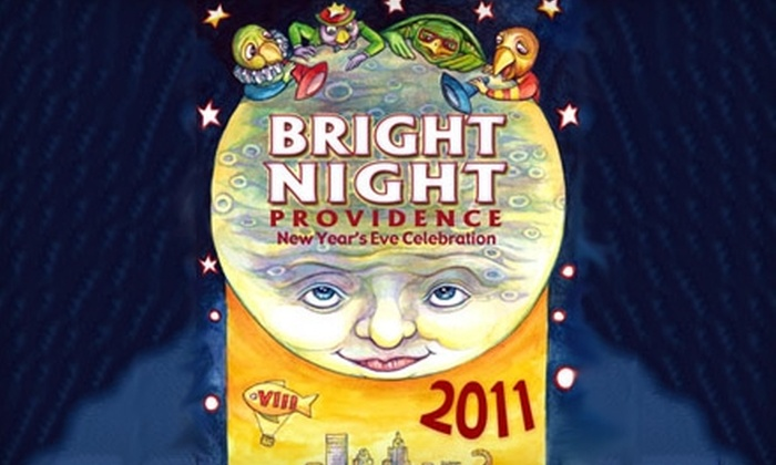 Bright Night Providence - Downtown Providence: $25 for 4 Tickets for Bright Night Providence