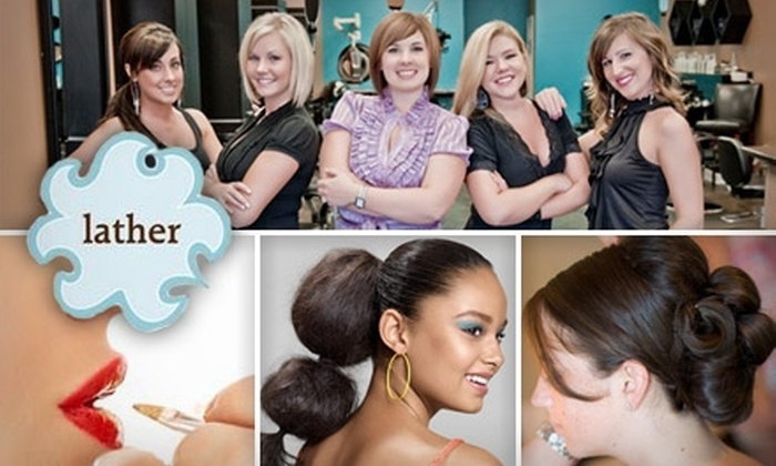 Lather Hair Salon - Northwest Raleigh: $20 for $50 Worth of Salon Services at Lather Hair Salon