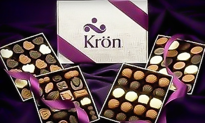 Kron Chocolatier - Great Neck Plaza: $16 for One Pound of Chocolates at Kron Chocolatier in Great Neck (Up to $32.50 Value)