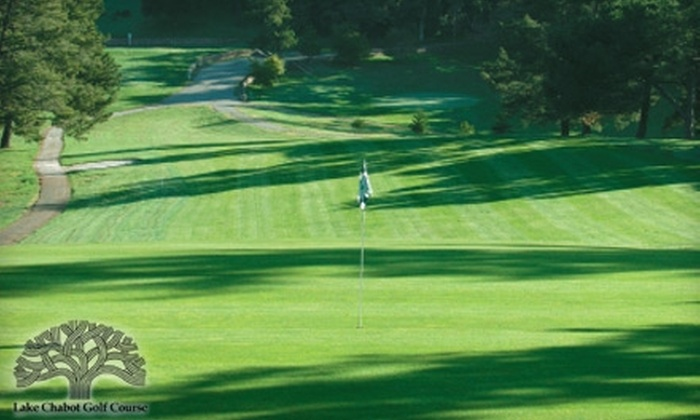 Lake Chabot Golf Course - Chabot Park: $53 for 18 Holes of Golf for Two with Cart at Lake Chabot Golf Course in Oakland ($106 Value)