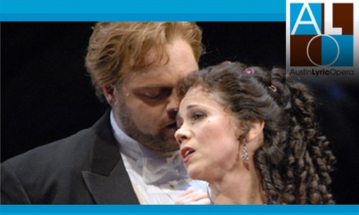 Austin Lyric Opera - Multiple Locations: $35 for a Ticket to La Traviata at Austin Lyric Opera (up to $126 value)