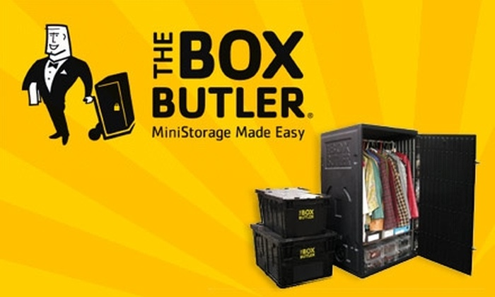 The Box Butler - New York City: $40 for $170 Worth of Storage Services at The Box Butler