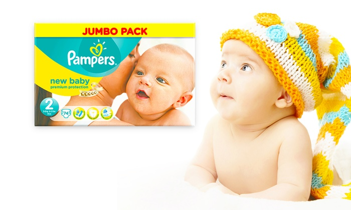 Pampers jumbo pack for newborns