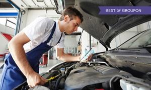 Pit Start garage: Three-Hour Car Service and MOT for £39 at Pit Start Garage (83% Off)