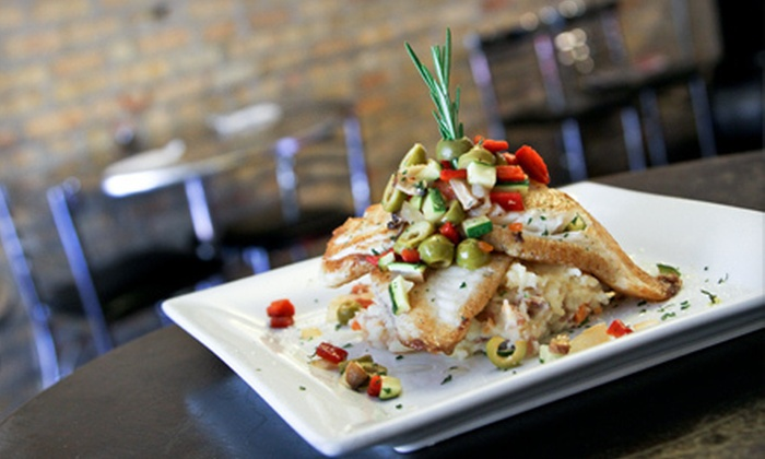 Café Bella - Logan Square: $39 for a Four-Course Fusion Dinner for Two at Cafe' Bella (Up to $78.75 Value)