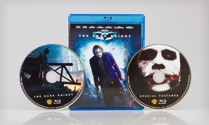 """The Dark Knight"" on Blu-ray: $8 for ""The Dark Knight"" on Blu-ray ($19.98 List Price)"