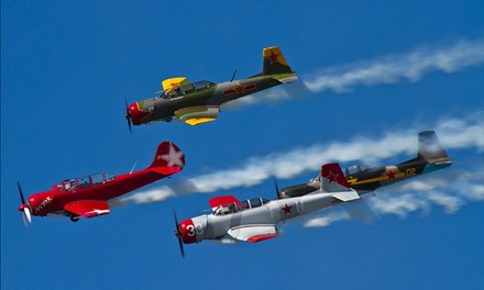 Greenwood Lake Airshow in West Milford NJ, August 15–17 (Up to 57% Off)