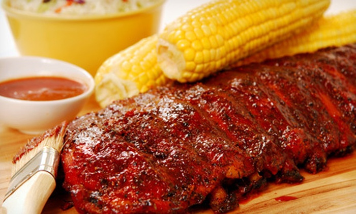 Firehouse Ribs - Steeple Run: Barbecue and Beers for Two or Four at Firehouse Ribs (Up to 51% Off)