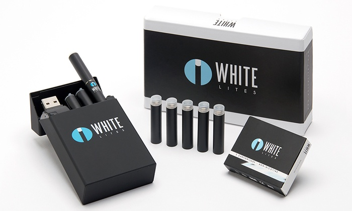 White Lites: $29 for an Electronic-Cigarette Starter Kit from White Lites ($99.99 Value)