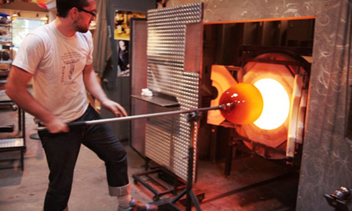 Seattle Glassblowing Studio & Gallery - Downtown Seattle: Glass-Blowing Workshops at Seattle Glassblowing Studio & Gallery (Up to 60% Off). Four Options Available.