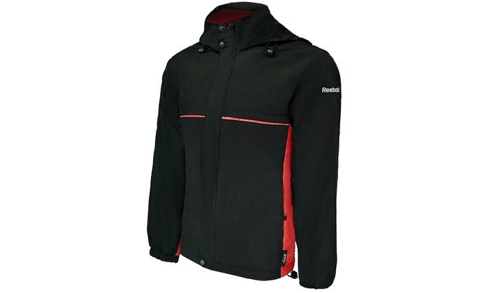 2a694c22d Reebok Men s Express II Water-Resistant Wind Jacket (Sizes ...