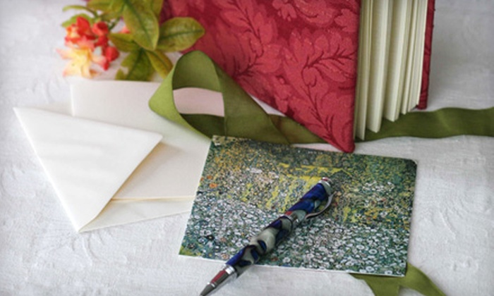 The Papery - Glebe - Dows Lake: $15 for $30 Worth of Stationery, Seasonal Gifts, Albums, and Invitations at The Papery