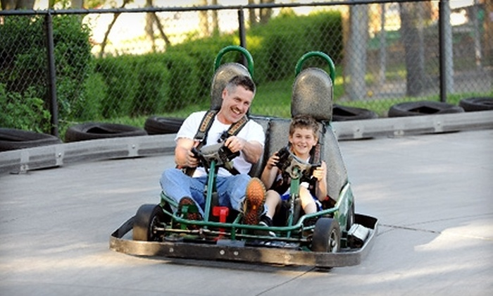 Selden Batting & Grand Prix - Selden: $15 for Go-Karts, Batting Cages, and Arcade at Selden Batting & Grand Prix ($39 Value)