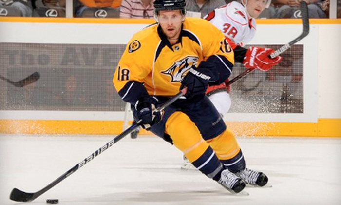 Nashville Predators - Downtown Nashville: Hockey—Nashville Predators at Bridgestone Arena