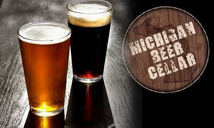 Michigan Beer Cellar - Sparta: $20 for $40 Worth of Craft Beers and Pub Fare at Michigan Beer Cellar