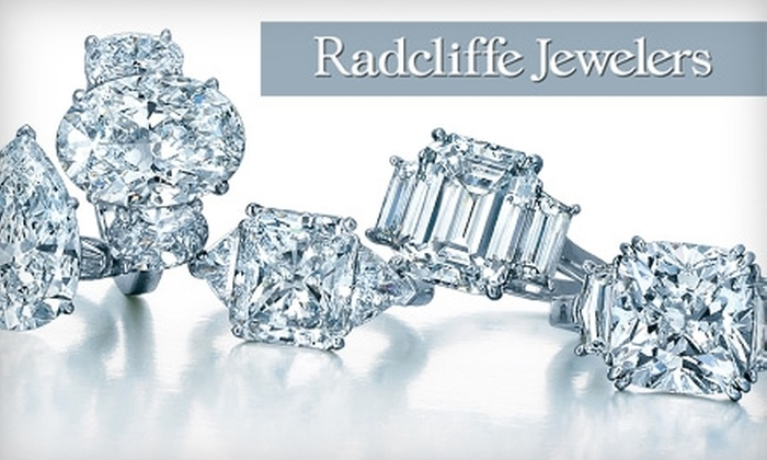 Radcliffe Jewelers - Multiple Locations: $20 for $60 Worth of Jewelry, Watches, Gifts, and More at Radcliffe Jewelers from February 21–27