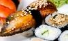 50% Off at Sushi & Wok