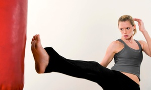 Kickboxing.com: 10 or 20 Classes with Gloves at Kickboxing.com (Up to 82% Off)