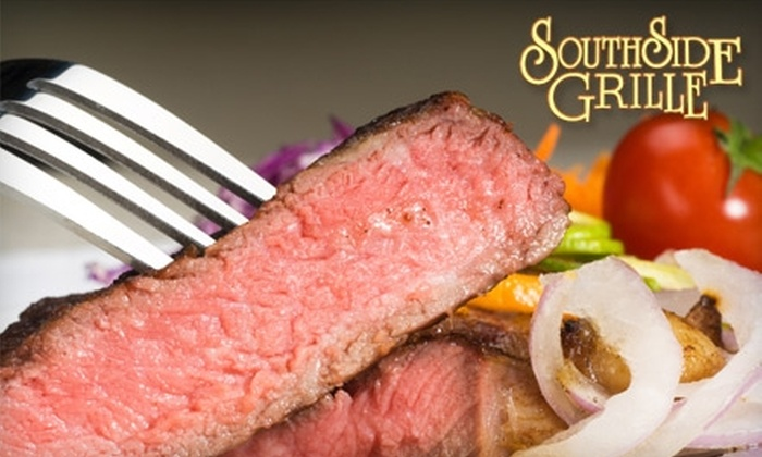 South Side Grille - South Bound Brook: $15 for $30 Worth of Casual Italian-American Dinner Fare and Drinks at South Side Grille