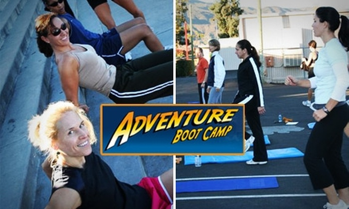 Lake Country Adventure Boot Camp - Multiple Locations: $39 for Five Classes at Adventure Boot Camp For Women Plus Free Boot Camp T-Shirt ($135 Value)