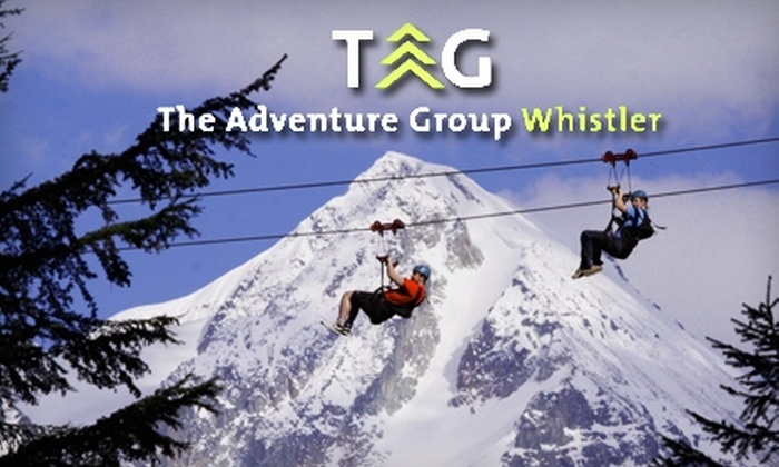 WildPlay Whistler - Multiple Locations: $50 for a Zoom Zip Line Tour at WildPlay Whistler ($100.79 Value)