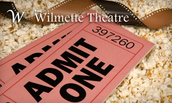 """Wilmette Theatre - Wilmette: $12 for Two Movie Tickets and One Regular Popcorn and Drink (Up to $24 Value) or $7 for a Ticket to Ben Hollis's """"What's It Like to Be You?"""" Show ($15 Value) at the Wilmette Theatre"""