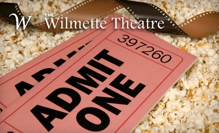 Wilmette Theatre: Two Movie Tickets and One Regular Popcorn and Drink - Wilmette Theatre in Wilmette
