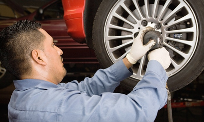 GS Auto Center - Orlando: One or Two Oil-Change Packages with Tire Rotations and Inspections at GS Auto Center (Up to 76% Off)