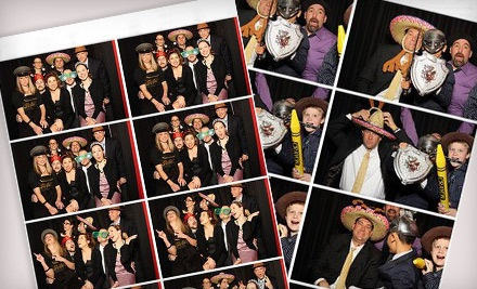 5-Hour Photo-and-Video-Booth Rental with Unlimited Prints ($1250 value) - Motor City Photo Booth in