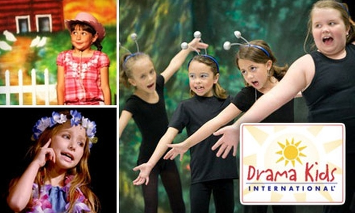 Drama Kids International - Multiple Locations: $15 for Two One-Hour Children's Acting Classes at Drama Kids International ($31.50 Value). Choose from Four Locations.