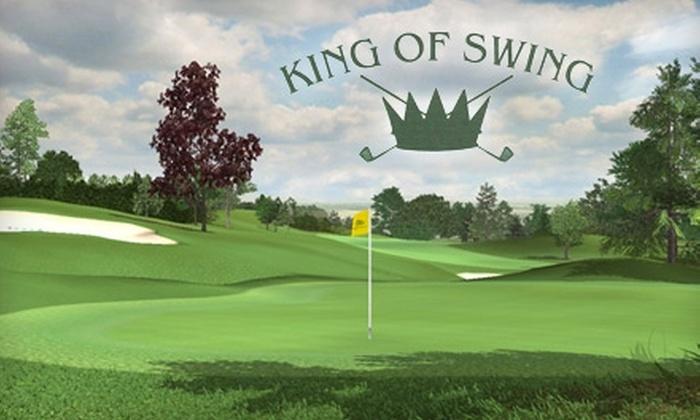King Of Swing Golf - Revere: $25 for $50 Toward Golf Simulation or Merchandise at King of Swing Golf in Revere
