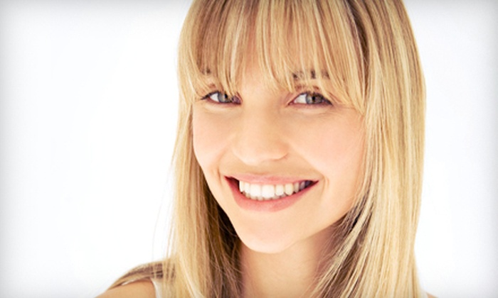 Suite Hibiscus Salon - Alpharetta: Haircut, Blow-Dry, and Style or Updo with Option for Partial or Full Highlights at Suite Hibiscus Salon in Alpharetta (Up to 74% Off)