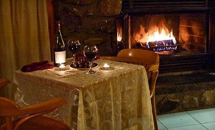 Chalets Lac a la Truite: One-Night Chalet Accommodations and Fondue Dinner for Two (Valid Sunday-Thursday) - Chalets Lac a la Truite in Sainte-Agathe
