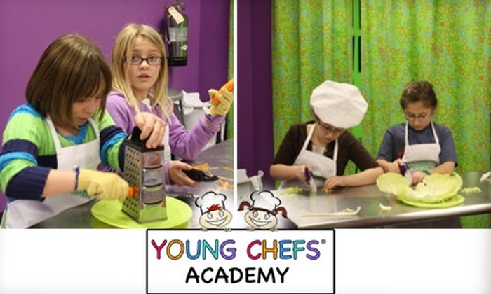 Young Chefs Academy - Brentwood: $15 for One 90-Minute Cooking Class at Young Chefs Academy (Up to $35 Value)