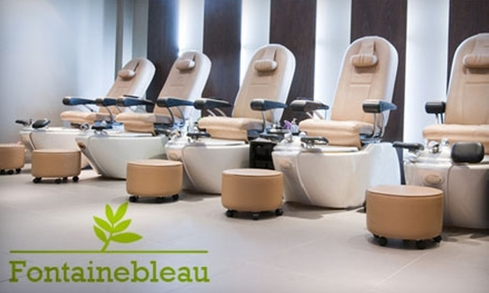 Fontainebleau Nail & Spa - Upper West Side: $28 for a Mani-Pedi at Fontainebleau Nail & Spa ($56 Value)