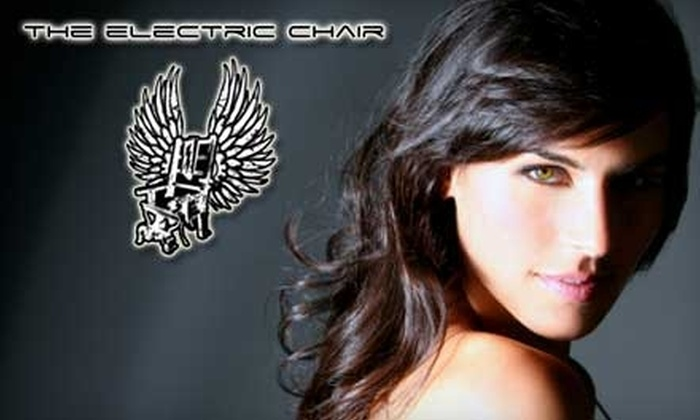 The Electric Chair Salon - Downtown: $50 for $100 Worth of Hair and Waxing Services at The Electric Chair Salon