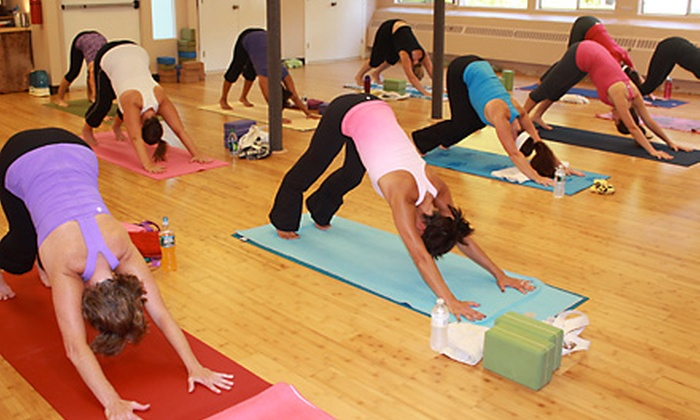 bCalm Power Yoga - Hopkinton: $30 for Five Classes at bCalm Power Yoga in Hopkinton ($70 Value)