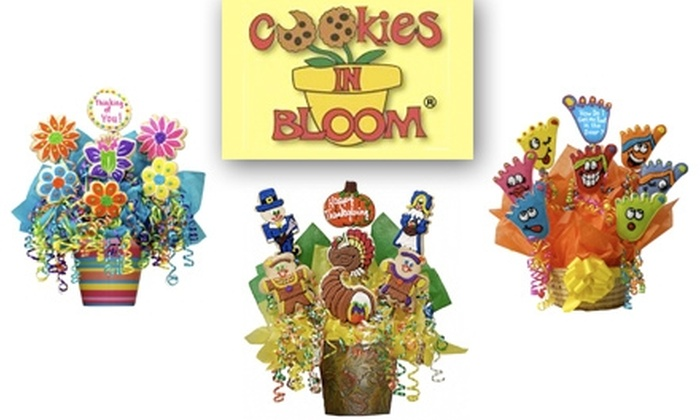 Cookies In Bloom  - Indianapolis: $30 for $60 Worth of Delicious Gourmet Cookies from Cookies in Bloom