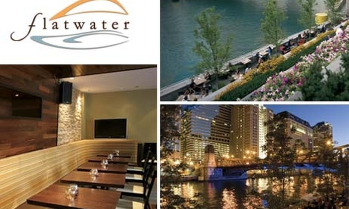 Flatwater Grill - Near North Side: $5 for a $20 Groupon Toward Brunch at Flatwater
